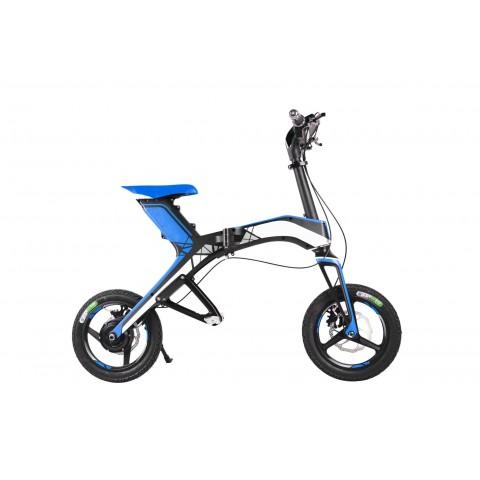 Mini scooter électrique bleu pliable Jumbo