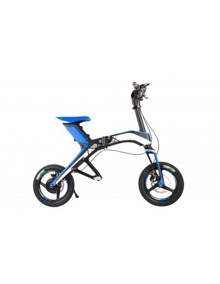 Scooter électrique pliable Jumbo Bleu