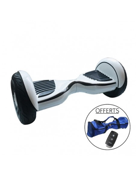 Hoverboard 4x4 Bluetooth ♬ Nano Blanc
