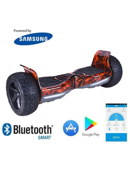 Hoverboard Hummer 4x4 Bluetooth ♬ Red Flame