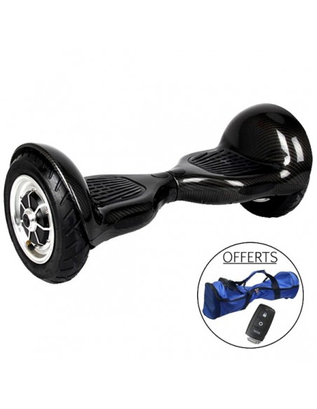 Hoverboard 4x4 Bluetooth ♬ Noir Carbone