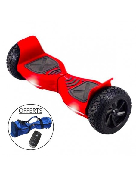 Hoverboard Hummer 4x4 Bluetooth ♬ Rouge