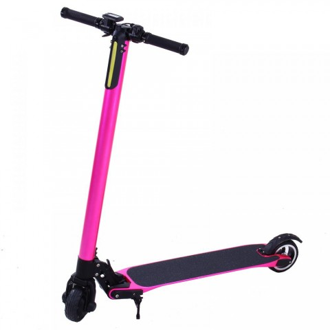 Trottinette électrique Carbone pliable Booster Rose