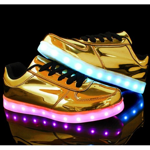Chaussure led - Or