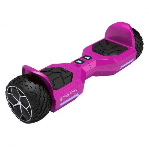 Hoverboard-tout-terrain-bumper-rose