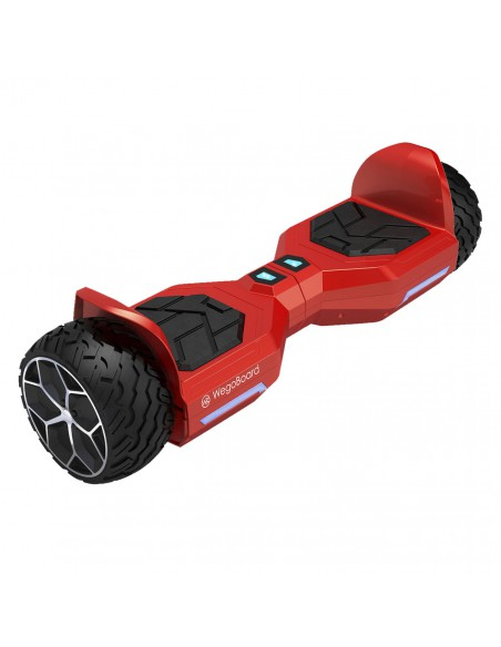 Hoverboard Bumper 4x4 Bluetooth ♬ Rouge
