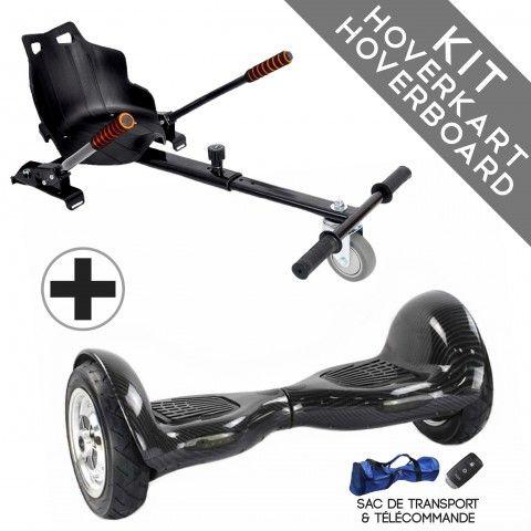 Kit Hoverboard tout terrain + Hoverkart