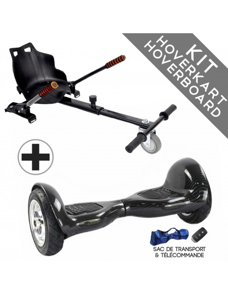 Kit Hoverboard 4x4 Bluetooth + Hoverkart