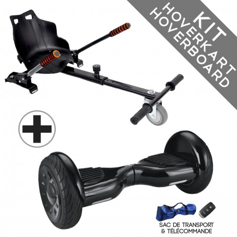 Kit Hoverboard 4x4 Nano Bluetooth + Hoverkart