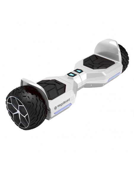 Hoverboard Bumper 4x4 Bluetooth ♬ Blanc
