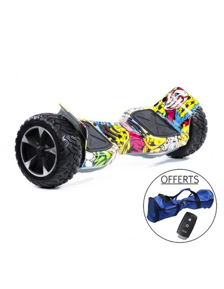 Hoverboard Hummer 4x4 Bluetooth ♬ Graffiti