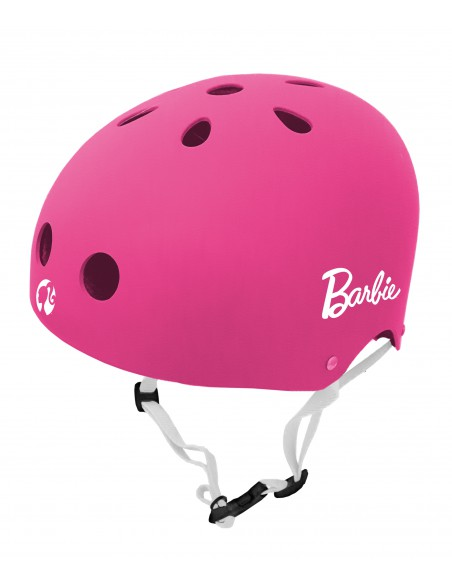 Casque enfant rose Barbie