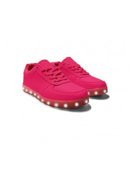 Chaussure led enfant Rose