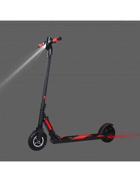 Trottinette électrique pliable Booster Max Noir/Rouge