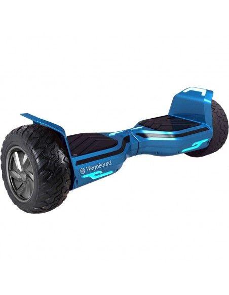 Hoverboard Hummer 2.0 4x4 Bluetooth ♬ Bleu