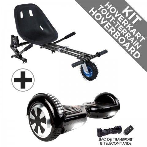 Kit Hoverboard Prestige + Hoverkart Tout Terrain