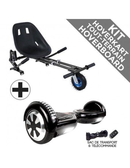 Kit Hoverboard Prestige Bluetooth ♬ + Hoverkart Tout Terrain