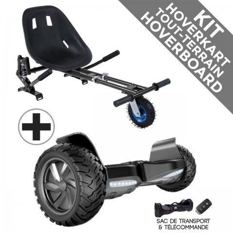 Kit Hoverboard Hummer + Hoverkart Tout Terrain