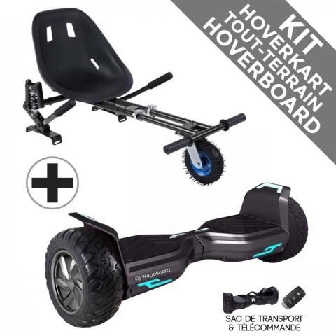 Kit Hoverboard Hummer 2.0 + Hoverkart Tout Terrain