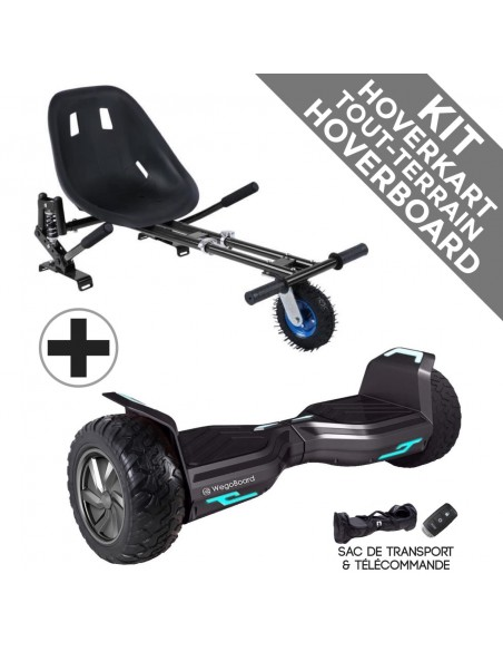 Kit Hoverboard Hummer 2.0 Bluetooth ♬ + Hoverkart Tout Terrain