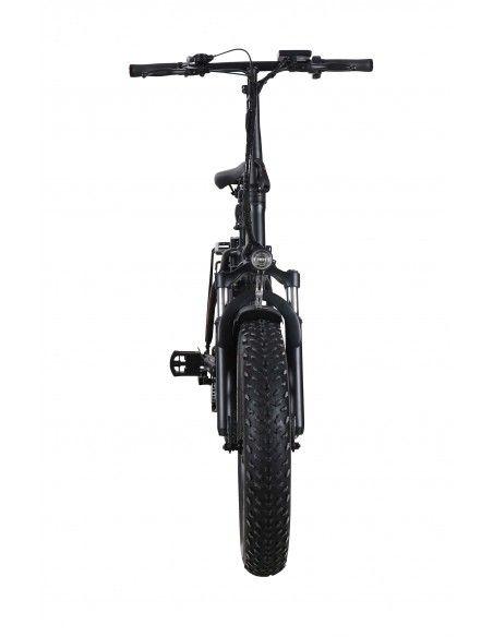 Velo electrique superbike Noir