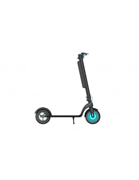 Trottinette électrique pliable Runway Plus Noir/Bleu