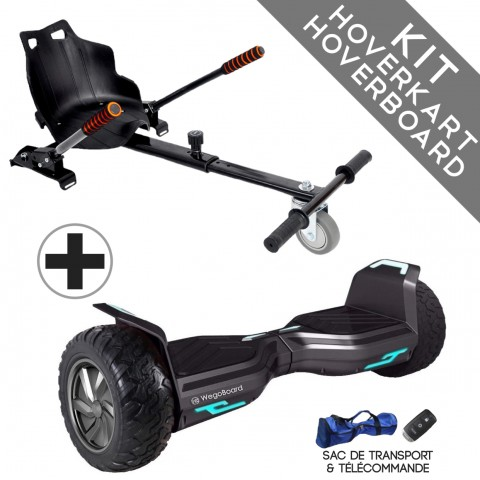 Kit Hoverboard Hummer 2.0 Bluetooth ♬...