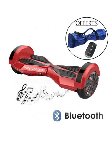 Hoverboard Xtrem Bluetooth ♬ Rouge