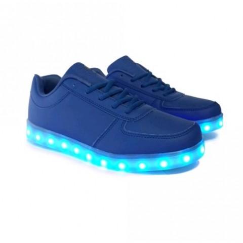 Chaussure led - Bleu