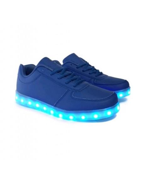 Chaussure led Bleu