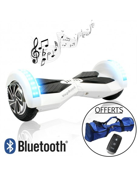 Hoverboard Xtrem Bluetooth ♬ Blanc