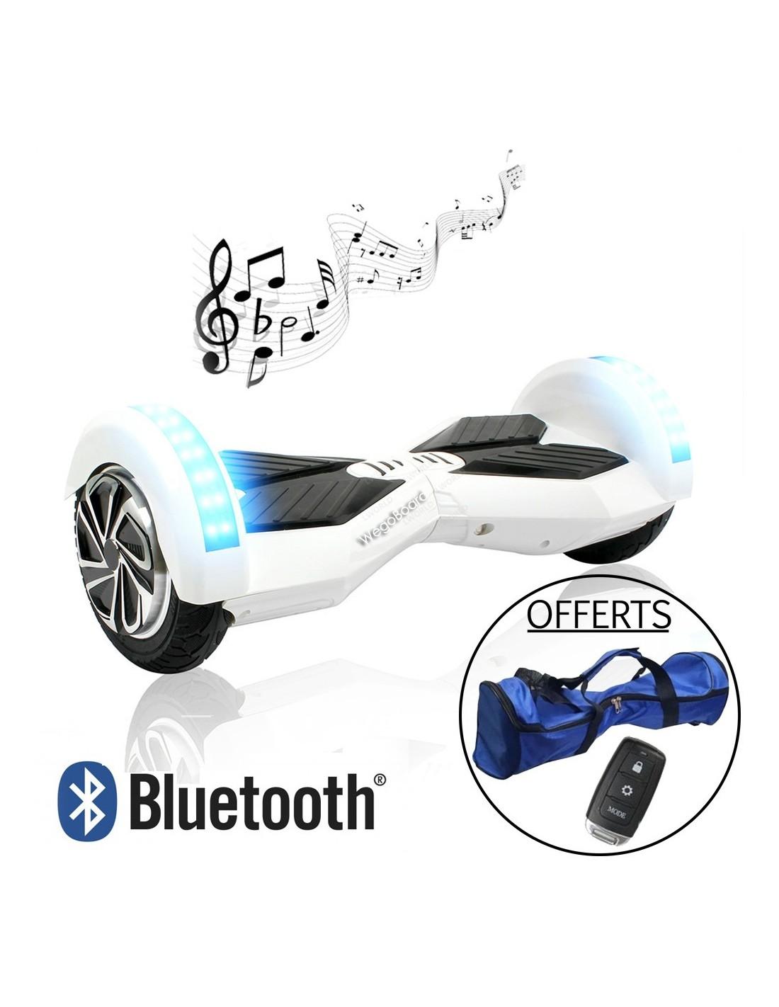 hoverboard xtrem bluetooth blanc wegoboard. Black Bedroom Furniture Sets. Home Design Ideas