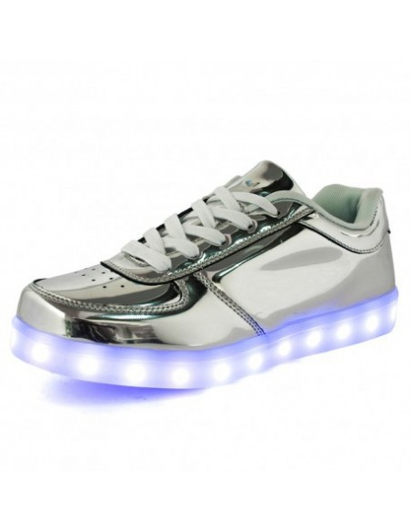 Chaussure led - Argent