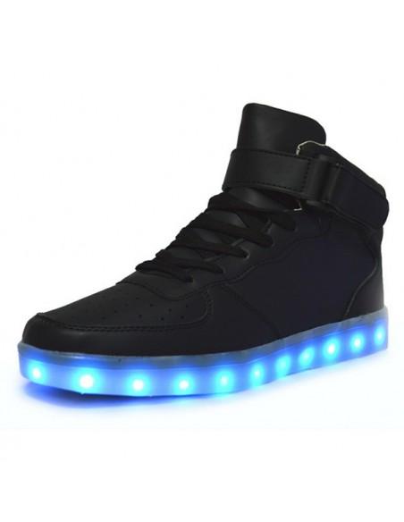 Chaussure led montante Noir