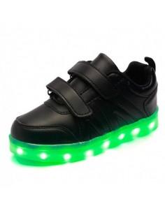 Chaussures LED Adultes et Enfants Mixte Noir BJPnXHuZId