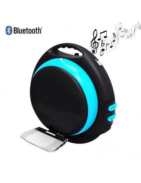 Monocycle électrique Uno+ Bluetooth ♬ Bleu