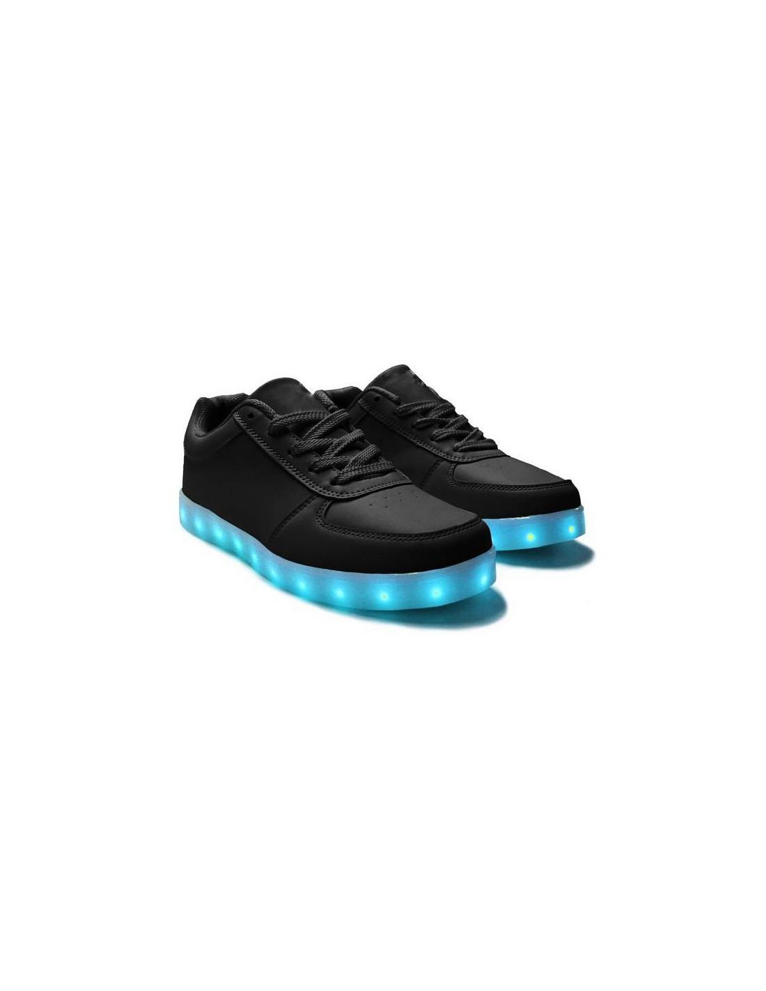 chaussure led noir - wegoboard