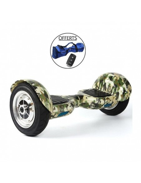Hoverboard 4x4 Bluetooth ♬ Camouflage Militaire