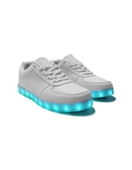 Chaussure led blanche
