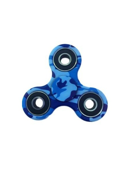 Hand Spinner Militaire Bleu