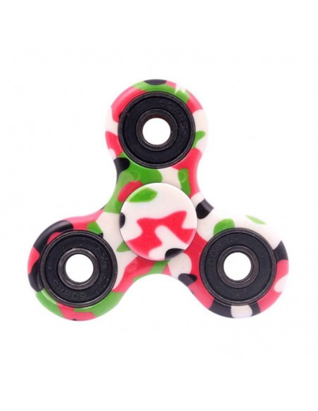 Hand Spinner Militaire Rose