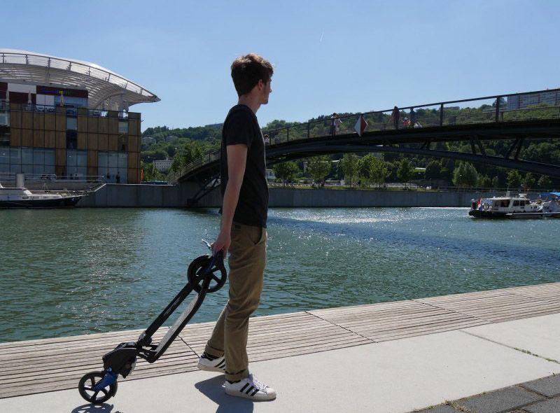 trottinette électrique trolley