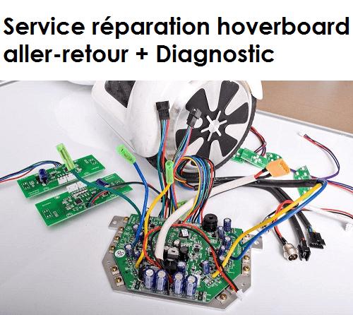 réparation hoverboard avec diagnostic