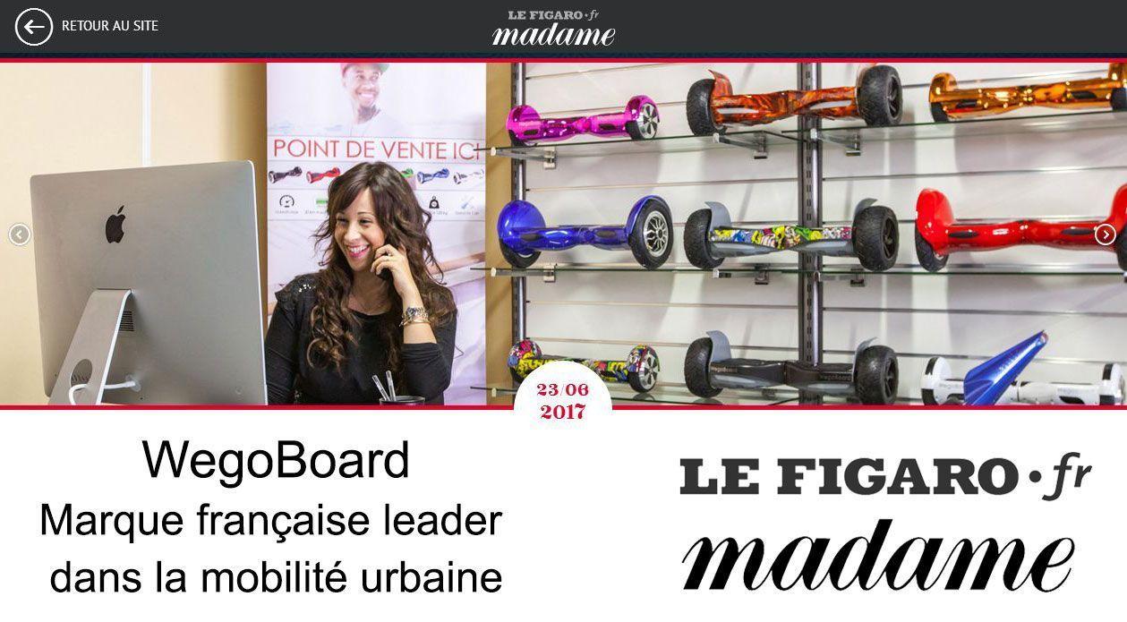 WegoBoard Le Figaro